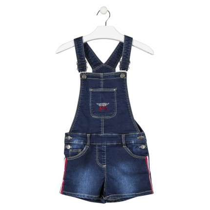 Peto Short Denim Losan niña junior Estrella