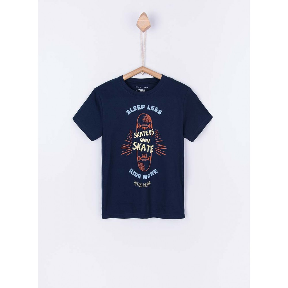 Camiseta Tiffosi Kids Cuba niño junior manga corta