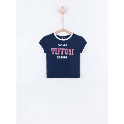 Camiseta Tiffosi Kids Carol niña junior manga corta