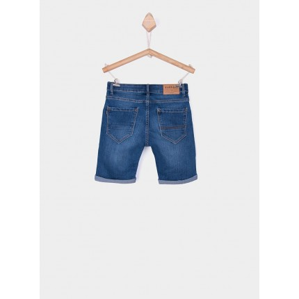 Parte trasera Bermuda Jeans Tiffosi Kids Joe 28 niño junior M10