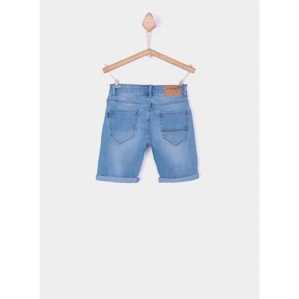 Parte trasera Bermuda Jeans Tiffosi Kids Joe 28 niño junior C10