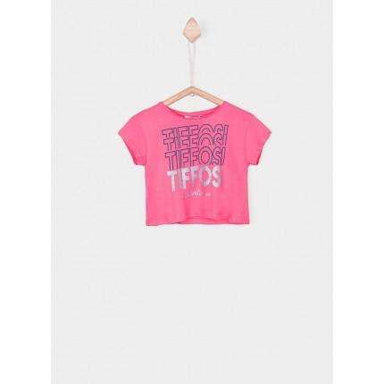 Camiseta Tiffosi Kids Sweet niña junior manga corta top