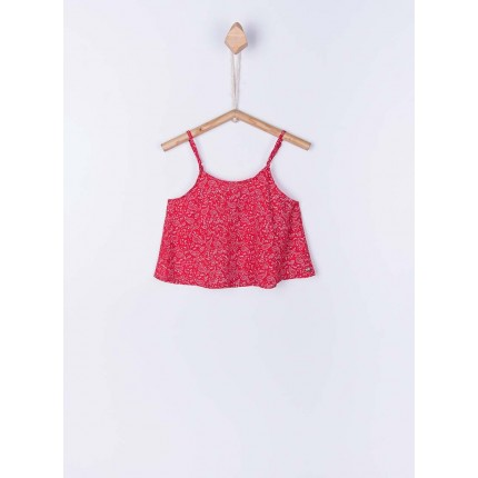 Top Tiffosi Kids Jasmine niña junior tirantes rojo