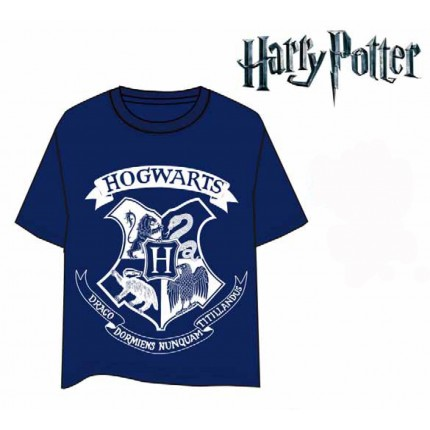 Camiseta Harry Potter Howarts adulto manga corta