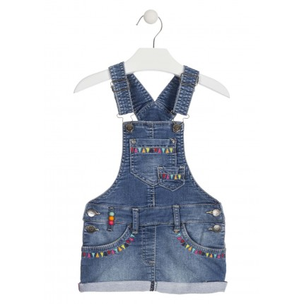 Peto Denim Losan Kids niña Oh My God infantil falda