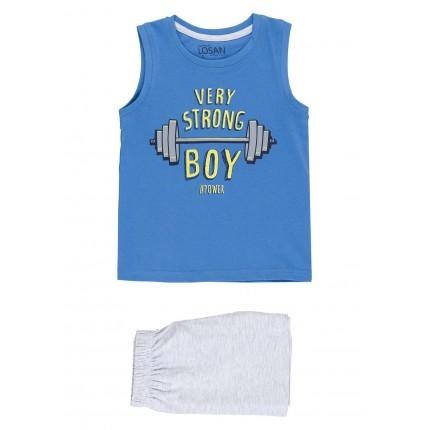 Pijama Losan Kids niño Very Strong Boy infantil tirantes