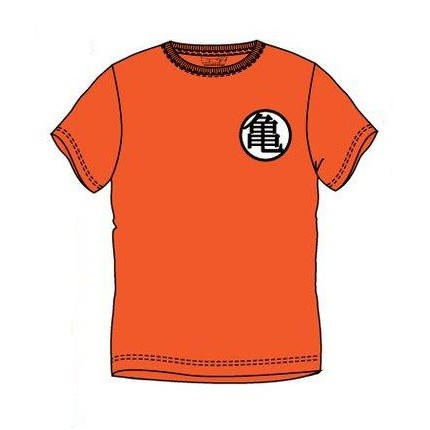 Camiseta Dragon Ball Kanji adulto manga corta