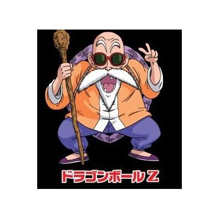 Detalle estampado Camiseta Dragon Ball Fullet Tortuga adulto manga corta