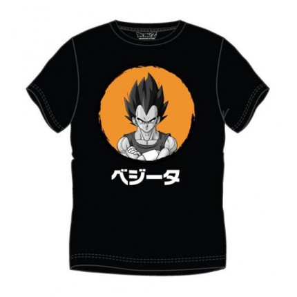 Camiseta Dragon Ball Z Vegeta adulto manga corta