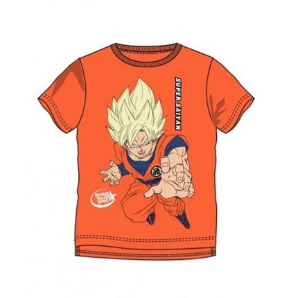 Camiseta Dragon Ball niño Súper Saiyan manga corta