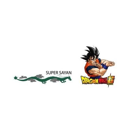 Etiqueta Camiseta Dragon Ball niño Súper Saiyan manga corta