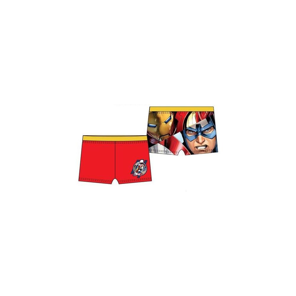 Rojo Bañador Boxer Vengadores niño infantil goma