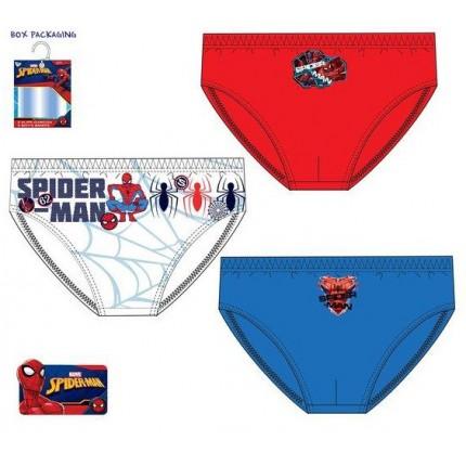 Pack de 3 Slips Spider-man niño infantil Talla 2/3