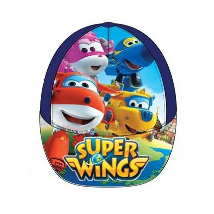 Gorra SUPER WINGS niño infantil con belcro azul
