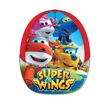 Gorra SUPER WINGS niño infantil con belcro rojo