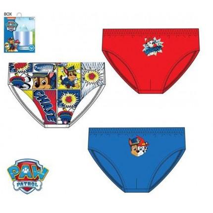 Pack de 3 Slips PAW PATROL niño infantil
