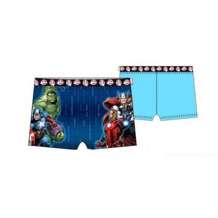 Bañador Vengadores Boxer niño infantil Marvel Azul