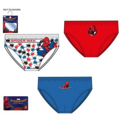 Pack de 3 Slips Spider-man niño Talla 6/8