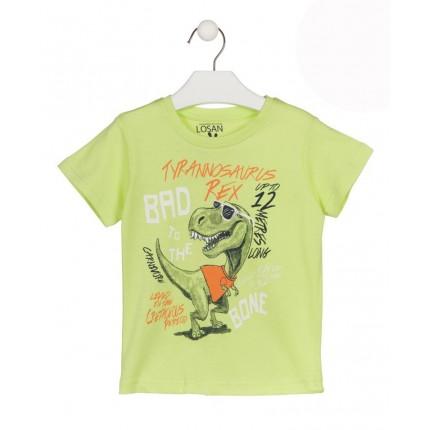 Camiseta Losan Kids niño Rex infantil manga corta