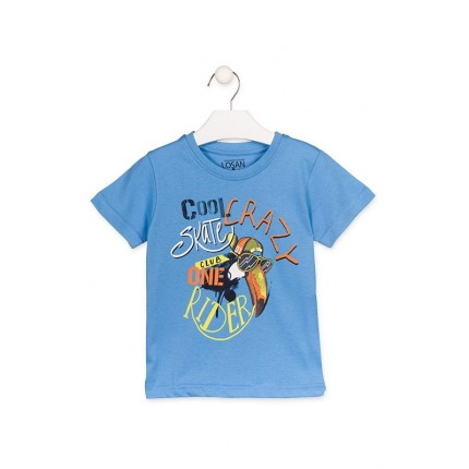 Camiseta Losan Kids niño Club one Rider infantil manga corta