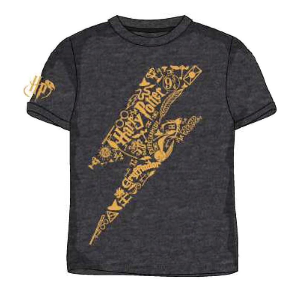 Camiseta Harry Potter Avada Kadavra niño manga corta