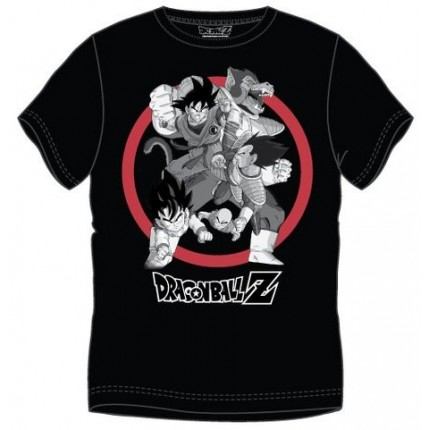 Camiseta Dragon Ball Vegeta Ozaru Goku Krilin Son Gohan adulto manga corta
