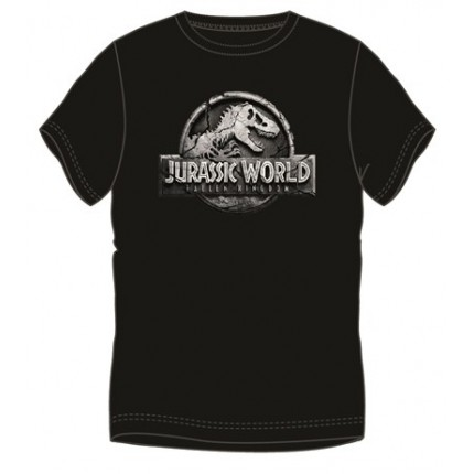 Camiseta Jurasic Word adulto manga corta