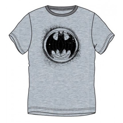 Camiseta Batman Begins adulto manga corta