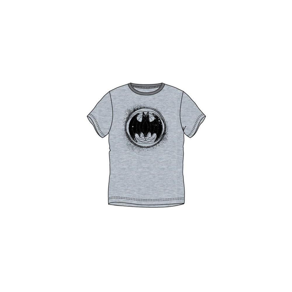 Camiseta Batman Begins adulto manga corta