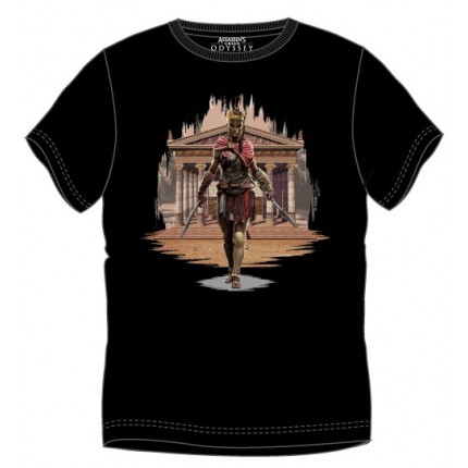 Camiseta Assessins Creed Kassandra adulto manga corta