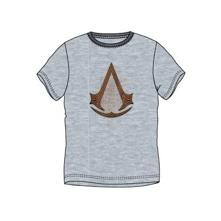 Camiseta Assessins Creed Origins adulto manga corta