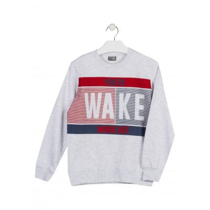 Sudadera Losan niño junior Youth Wake Work out puño