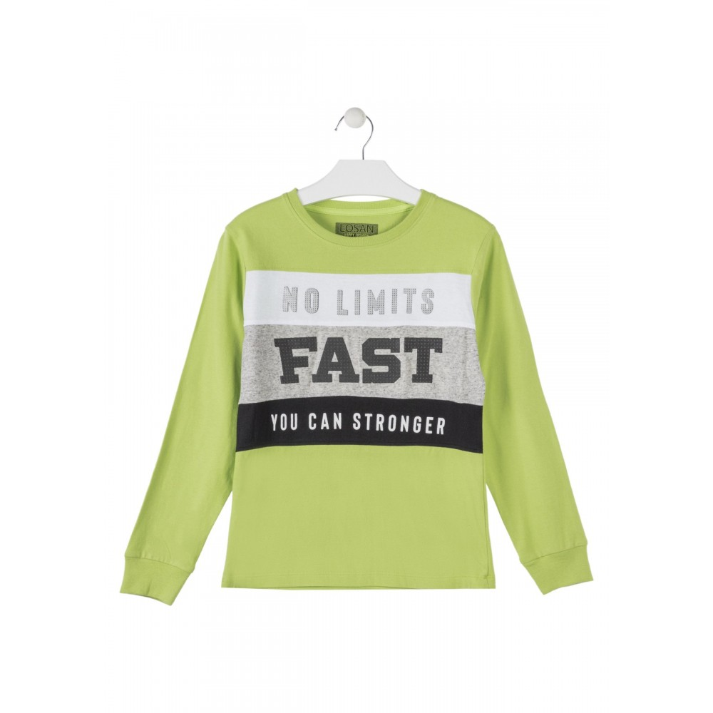 Camiseta Losan niño junior No Limits manga larga