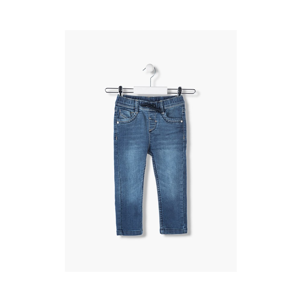 Pantalón Denim Losan niño junior cordón azul