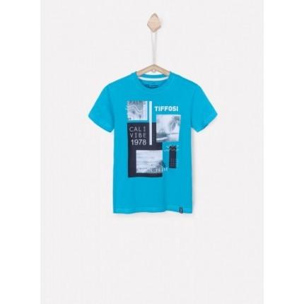 Camiseta Tiffosi Tobias niño junior manga corta