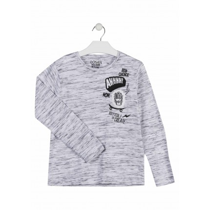 Camiseta Losan niño WOW! junior manga larga
