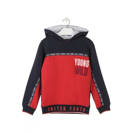 Sudadera Losan niño Wake up! junior capucha