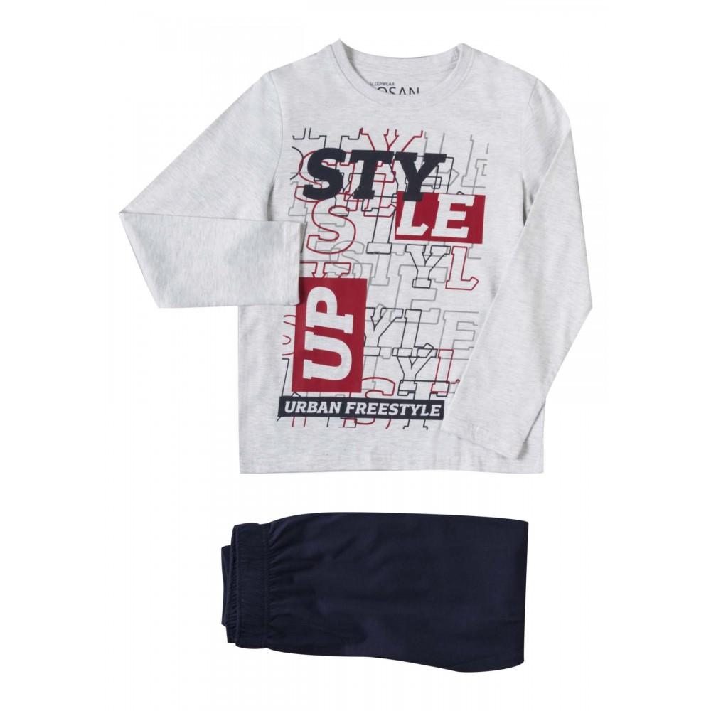 Pijama Losan niño Style Up! junior manga larga