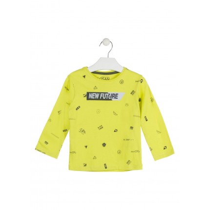 Camiseta Losan Kids niño New Future infantil manga larga