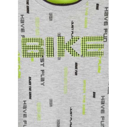 Detalle estampado en relieve Camiseta Losan Kids niño Bike infantil manga larga