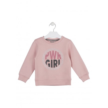 Sudadera Losan kids niña infantil Power Girls