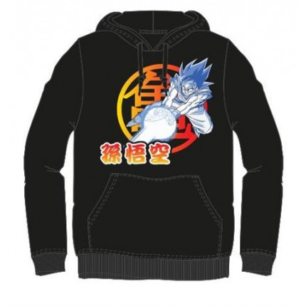 Sudadera Dragon Ball Z Goku canguro capucha