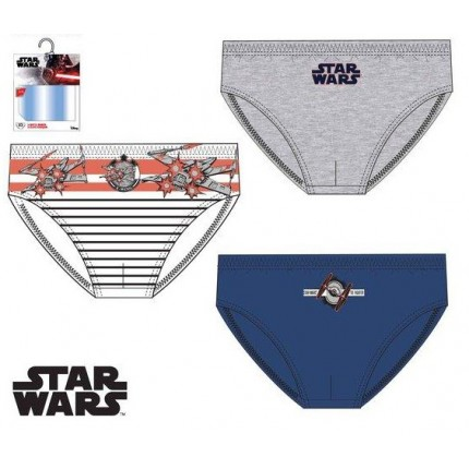 Slips Star Wars niño infantil pack de 3