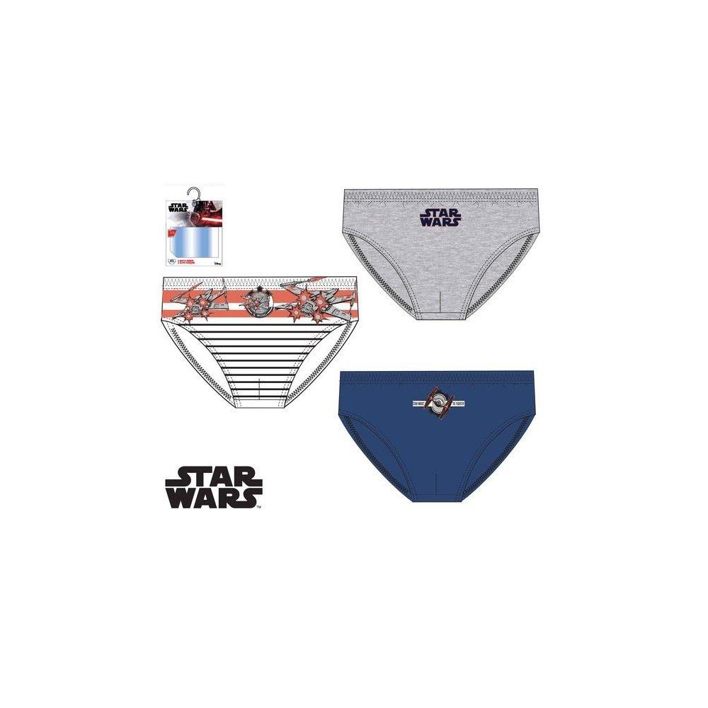Slips Star Wars niño infantil pack de 3