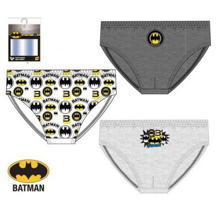 Slips Batman niño infantil DCComics pack de 3