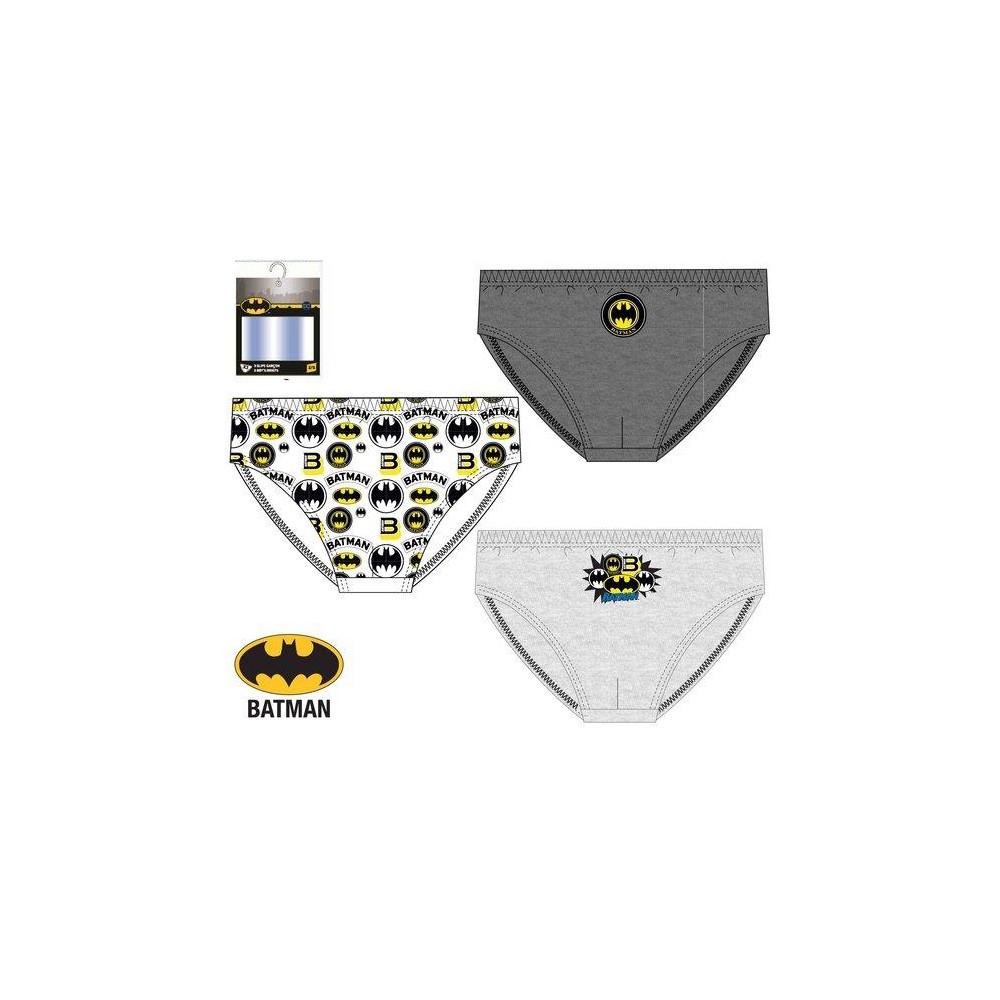 Slips Batman niño infantil DCComics pack de 3