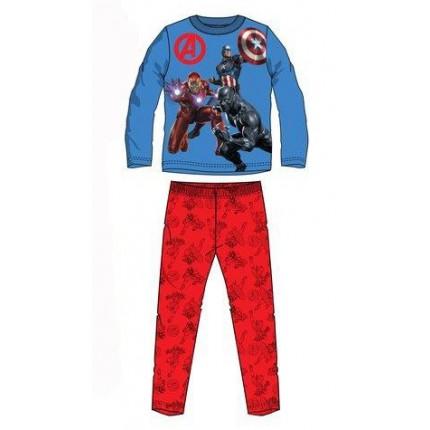 Pijama Vengadores niño infantil Marvel manga larga Iron Man Capitán América Black Panther