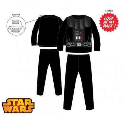 Pijama Star Wars niño infantil Darth Vader manga larga