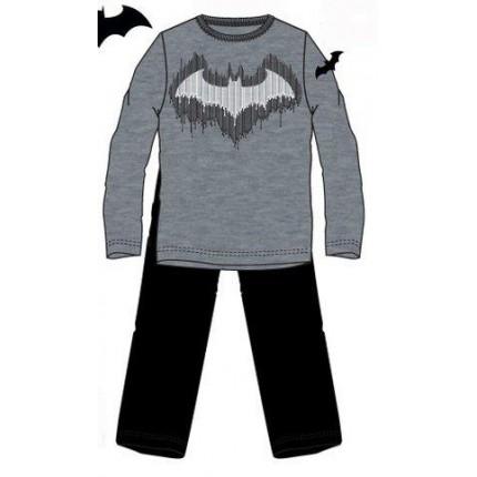 Pijama Batman Hombre manga larga escudo