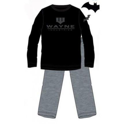 Pijama Batman Hombre manga larga Industrias Wayne